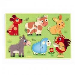 Puzzel Coucou Cow | Djeco -