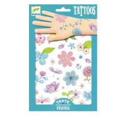 Tattoos Flowers | Djeco -