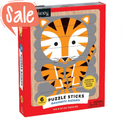 Puzzel Sticks Animals | Mudpuppy -
