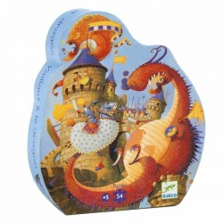 Puzzel Ridder en Draak | Djeco -