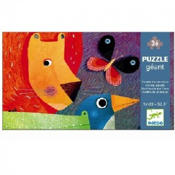 Reuzenpuzzel Animals Parade | Djeco -