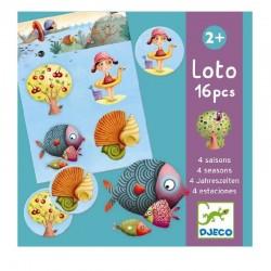 Loto 4 Seasons | Djeco -