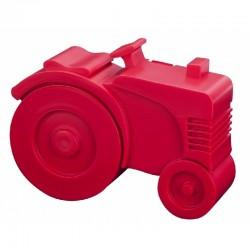 Broodtrommel Tractor rood | Blafre -