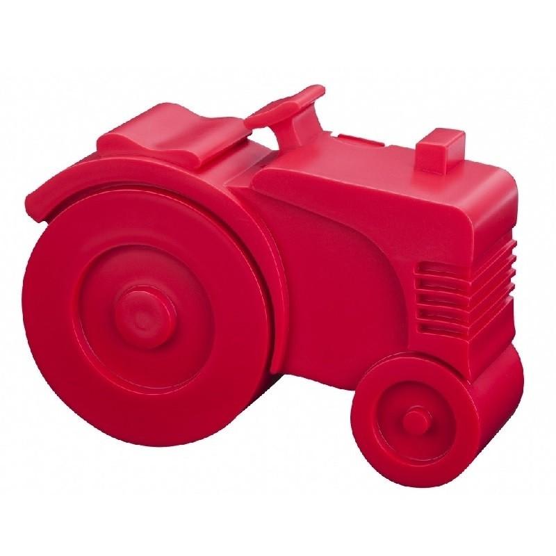 Broodtrommel Tractor rood   Blafre -