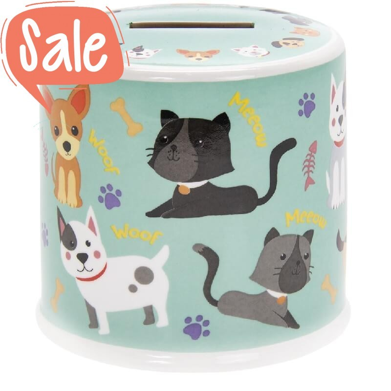 Spaarpot Cats & Dogs | Lesser & Pavey -
