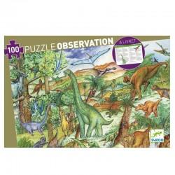 Observatie puzzel Dino | Djeco -