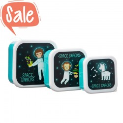 Snackdoosjes set Space Explorer | Sass & Belle -