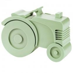 Broodtrommel Tractor lichtgroen | Blafre -