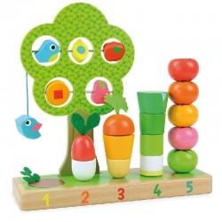 Ik leer tellen met groenten | Vilac -
