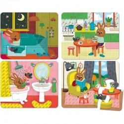 Houten puzzels Huis | Vilac -