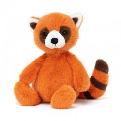 Knuffel Whispit Rode Panda | Jellycat -