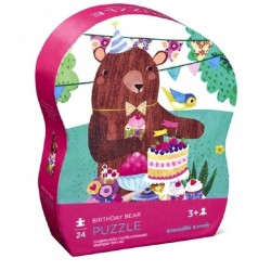 Puzzel Birthday Bear | Crocodile Creek -