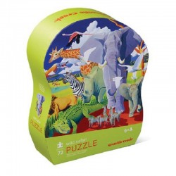 Puzzel Wild Safari | Crocodile Creek -