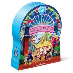 Puzzel Day at the Fair | Crocodile Creek -