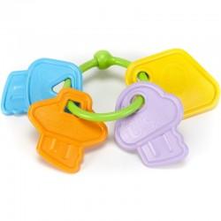 Sleutelbos  rammelaar / bijtring | Green Toys -