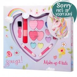 Make-up set hart groot Eenhoorn | Souza for Kids -