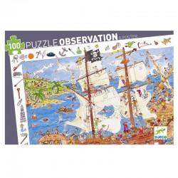 Puzzel Piraten observatie | Djeco -