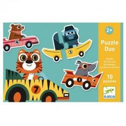 Duo puzzel Race Auto's | Djeco -