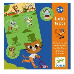 Loto Funny Animals | Djeco -