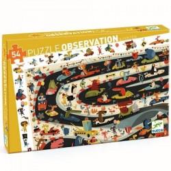 Puzzel Car Rally observatie | Djeco -