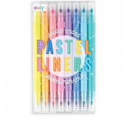 Dubbelzijdige stiften Pastel Liners   Ooly -