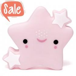 Nachtlampje ster roze | Petit Monkey -