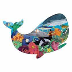 Vorm Puzzel Oceaan / Walvis | Mudpuppy -