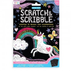 Scratch & Scribble Kraskaarten Funtastic Friends | Ooly -