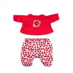 Poppenkleding Robin Pyjama   Lilliputiens -