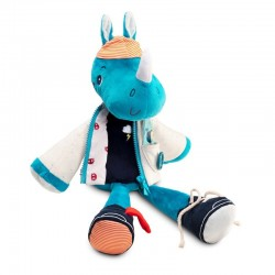 Aankleed pop Neushoorn Marius | Lilliputiens -