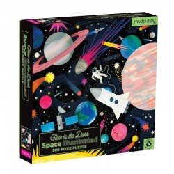 Glow in the Dark Puzzel Space | Mudpuppy -