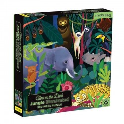 Glow in the Dark Puzzel Jungle | Mudpuppy -