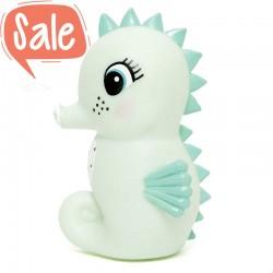 Nachtlampje zeepaardje mint | Petit Monkey -