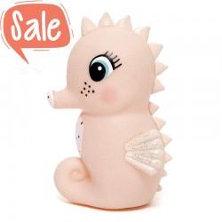 Nachtlampje zeepaardje peach | Petit Monkey -