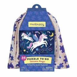 Puzzel to go Eenhoorn | Mudpuppy -