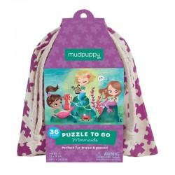 Puzzel to go Zeemeermin | Mudpuppy -