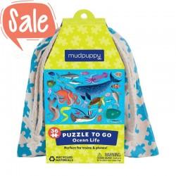 Puzzel to go Oceaan | Mudpuppy -