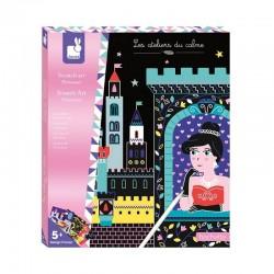 Kras kaarten Scratch Prinses   Janod -