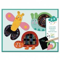 Scratch kaarten funny animals | Djeco -
