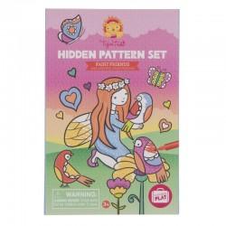 Kleurset Hidden Pattern Fairy | Tiger Tribe -