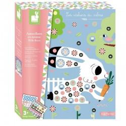 Foam Stickers duizenden bloemen | Janod -