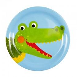 Melamine bordje Krokodil | Spiegelburg -