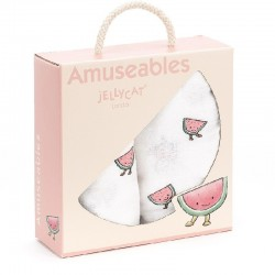 Swaddle set Amuseable Watermeloen | Jellycat -