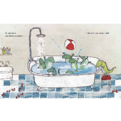 De krokodil die niet van water hield | Prentenboek -