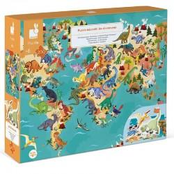 Educatieve puzzel Dino's | Janod -