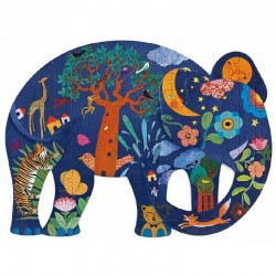 Puzzel Art Olifant | Djeco -