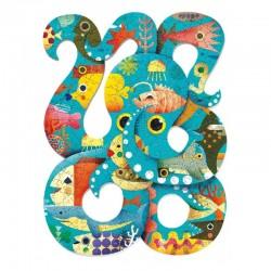 Puzzel Art Octopus | Djeco -