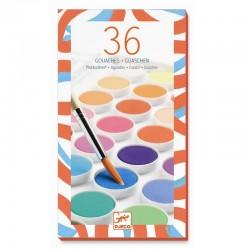 Waterverf 36 kleuren | Djeco -