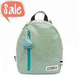 Rugzak Croco Mint | Zebra Trends -