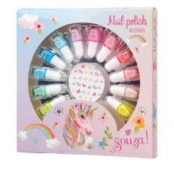 Nagellak op waterbasis met nagelstickers | Souza for Kids -